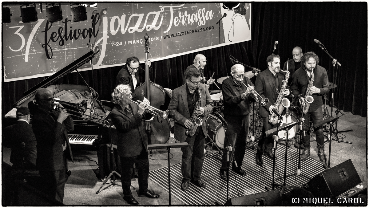 Jazzterrasman 2018 Pau Bombardó Reunion