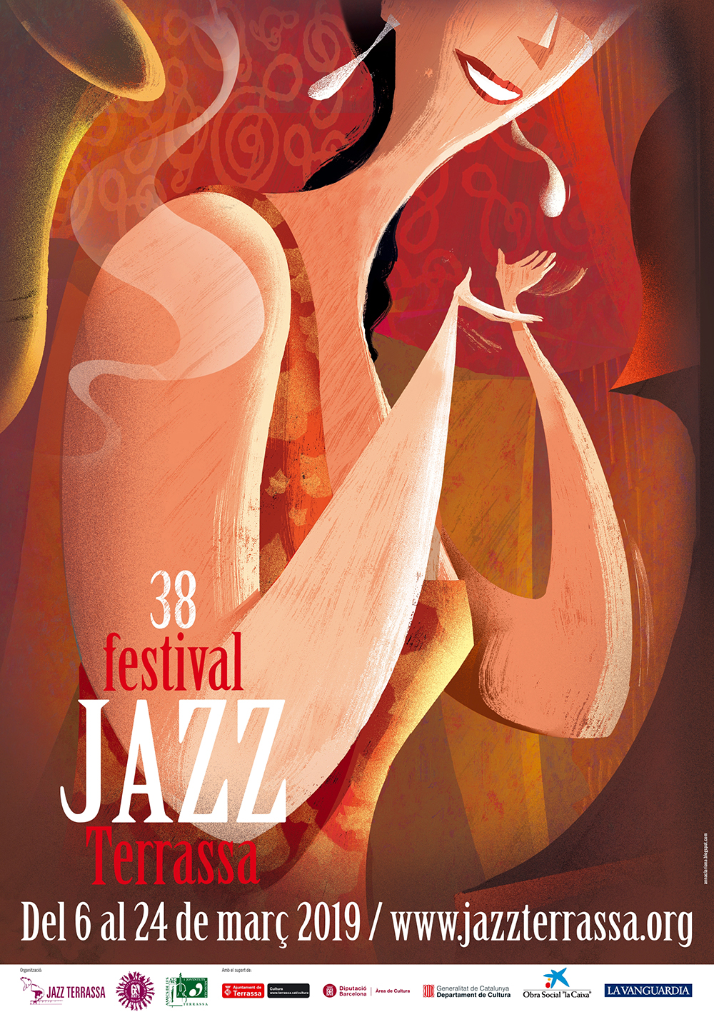 Cartell 38 Festival Jazz Terrassa
