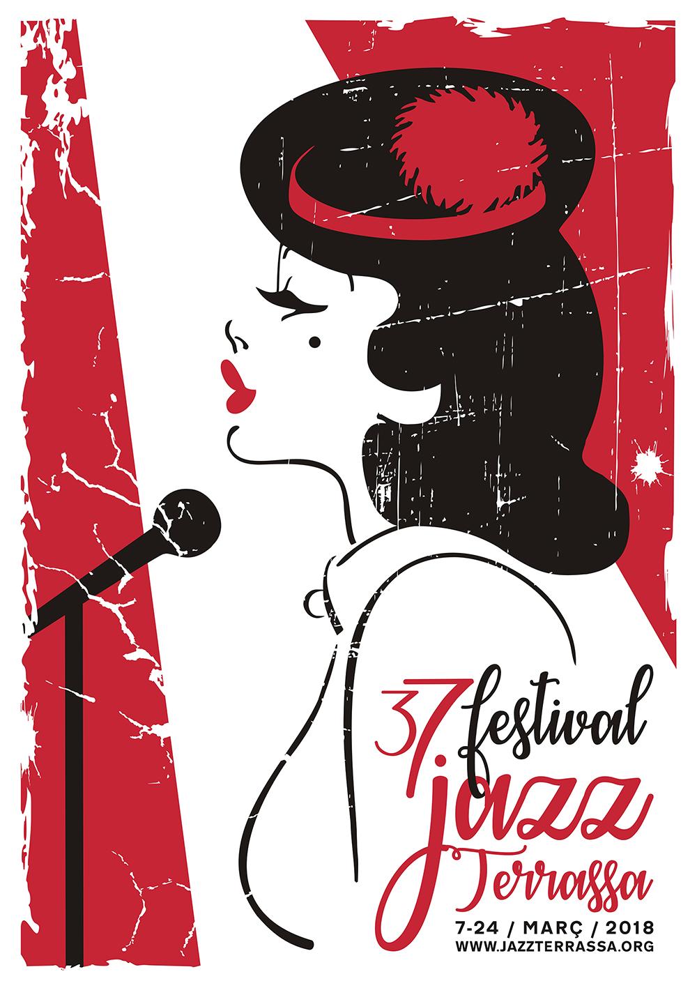 Cartell 37 Festival Jazz Terrassa