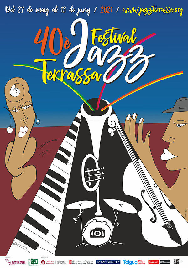 Cartell 40 Festival Jazz Terrassa