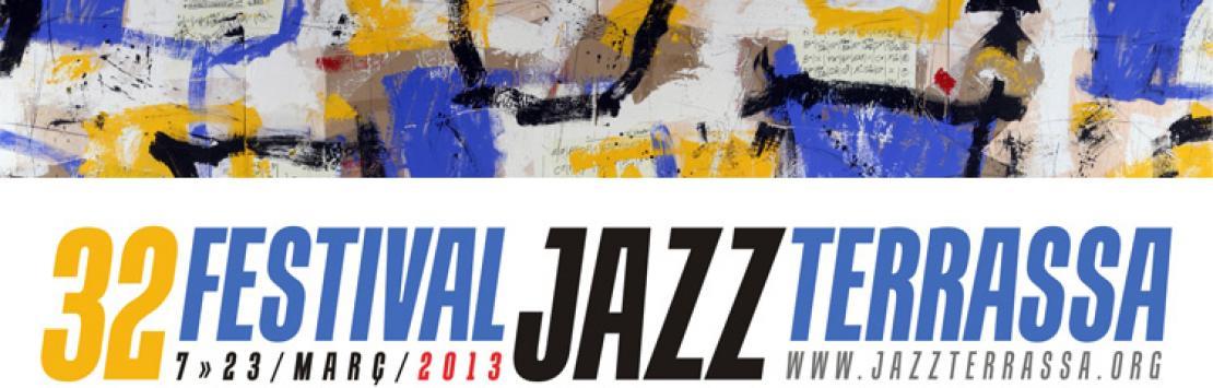 Capçalera 32 Festival de Jazz de Terrassa