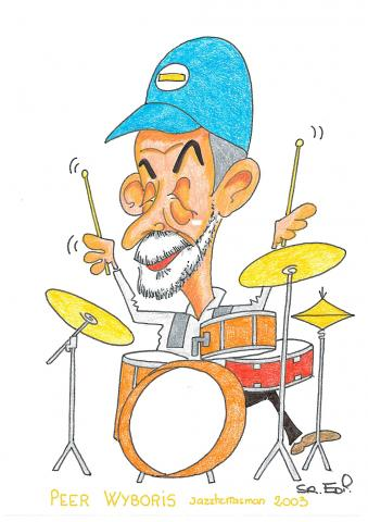 Peer Wyboris 1er Jazzterrasman 2003
