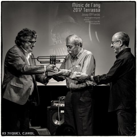 Josep Mª Farràs Músic de l´any 2017