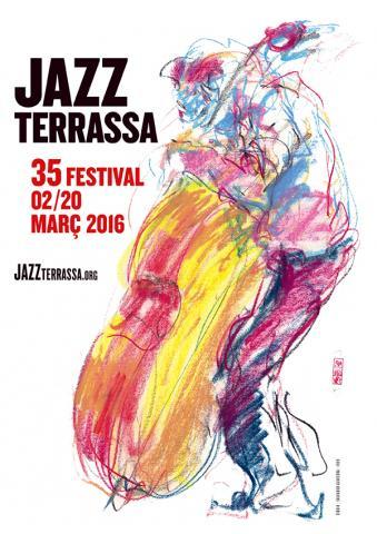 Samarreta 35 Festival Jazz Terrassa