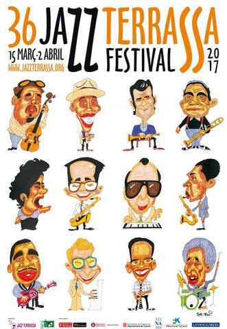 Samarreta 36 Festival Jazz Terrassa