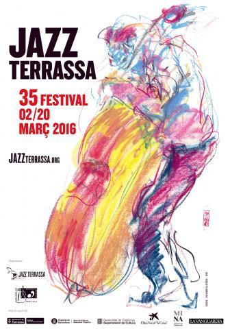 Cartell 35 Festival Jazz Terrassa