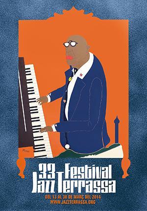 Cartell 33é Festival de Jazz de Terrassa 2014