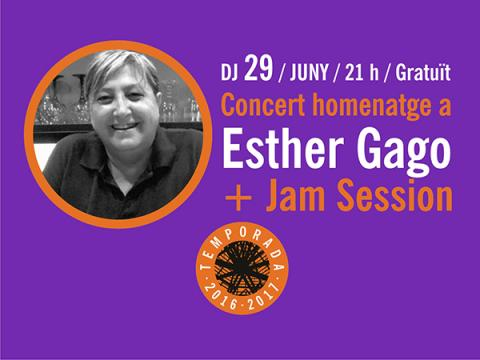Jam Session Homenatge Esther Gago