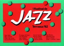 Cartell 1er Festival Jazz Terrassa 1982